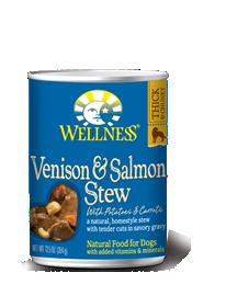 Wellness Venison & Salmon Stew