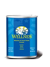 Wellness Whitefish & Sweet Potato Formula
