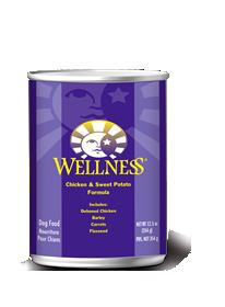 Wellness Chicken & Sweet Potato Formula