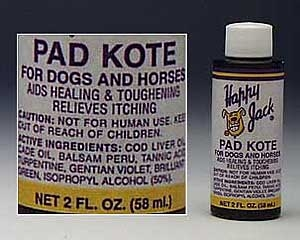 1/2oz. Happy Jack Pad Kote