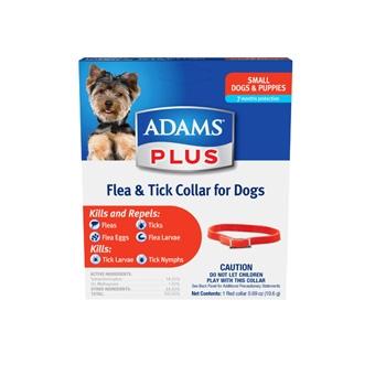 Adams Plus Flea & Tick Collar for Small Dogs