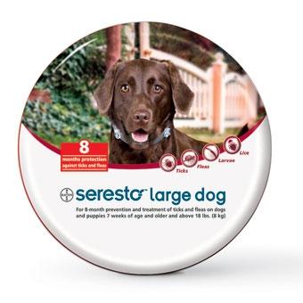 Seresto Flea & Tick Collar for Large Dogs Over 18#