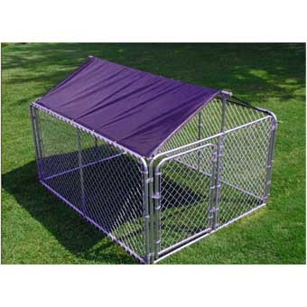 Stephens Pipe & Steel Solid Kennel Roof & Frame 10'X10'