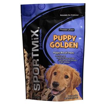 Sportmix Premium Puppy Biscuit Treats Puppy Golden Pouch 2#