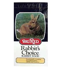 Big Red Rabbit Food 10#