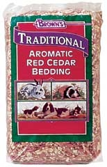Browns Traditional Red Cedar Bedding 3000CU IN.