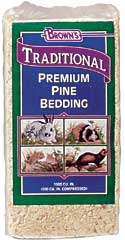 Browns Traditional Premium Pine Bedding 3000CU IN.