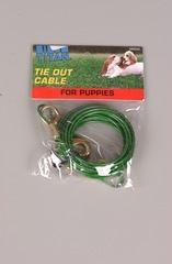 Coastal Cable Puppy Tie Out 12' Green
