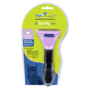 Furminator Short Hair Deshed Tool for Small Cats