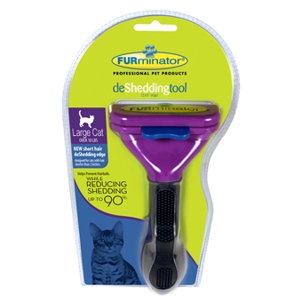 Furminator Short Hair Deshed Tool for Large Cats