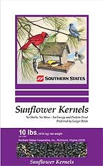 Southern States Sunflower Kernels 10#