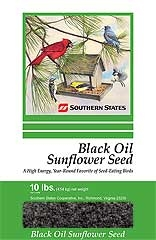 Southern States Black Oil Sunflower Seed 10#
