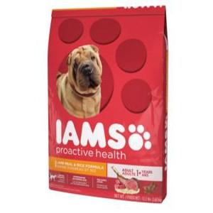 Iams ProActive Health Adult Lamb Meal & Rice 12.5lb.