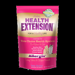 Holistic Health Extension Allergix Grain Free Cat Food, Salmon & Turkey 4lb