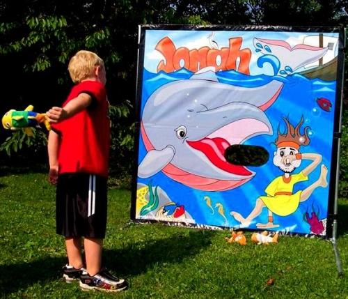 Jonah - Beanie Toss Game