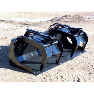Grapple Bucket for Skid Steer