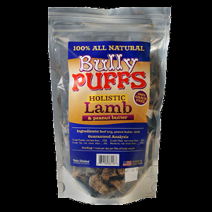 Holistic Health Expension Bully Puffs Lamb & Peanut Butter 5 oz.