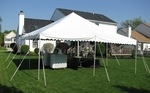 Canopy 20'x20' white installed