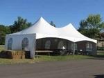 Frame Tent 20'x40' white