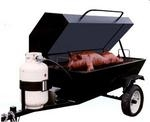 Roaster-Towable Smoker Propane