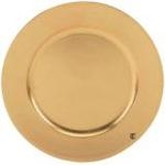 """Charger Plate - Gold, 13"""""""