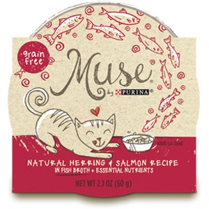 Purina® Muse® Herring & Salmon Recipe Cat Food in Broth