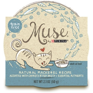 Purina® Muse® Natural Mackerel Recipe Cat Food in Broth
