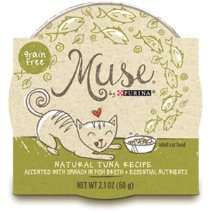 Purina® Muse® Natural Tuna Recipe Cat Food in Broth