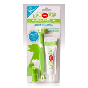 KissAble™ Toothbrush and Toothpaste Combo Kit