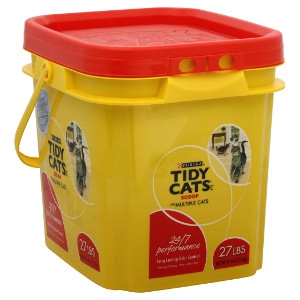 Purina Tidy Cats Scoop 24/7 Performance Clumping Litter 27lb Pail