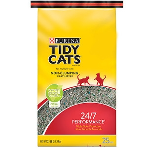 Purina Tidy Cats 24/7 Performance Non-Clumping Litter 20lb Bag