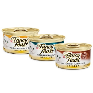 Fancy Feast Canned Cat Food 3oz