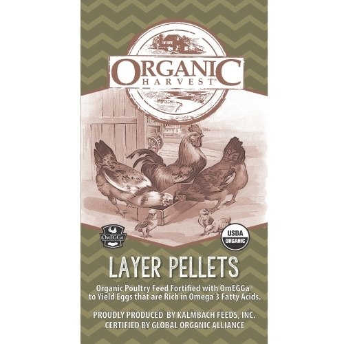 17% Organic Layer Pellets with Omegga