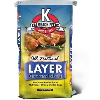 17% Non-GMO Layer Crumbles