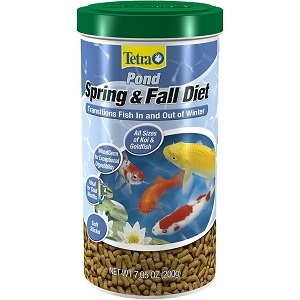 Tetra Pond Spring and Fall Diet