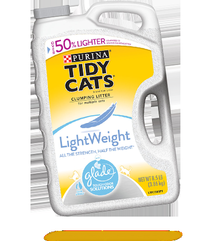 Purina Tidy Cat, Clumping Litter, Lightweight w/Glade