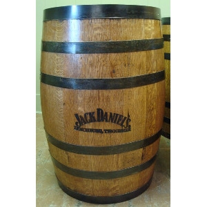 Whiskey Barrel Stamped Jack Daniels
