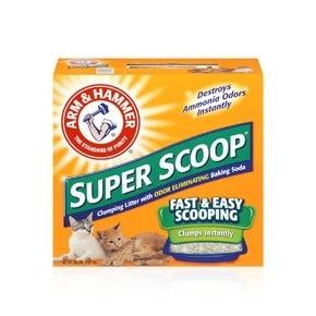 ARM & HAMMER™ Super Scoop™ Clumping Litter, Fresh Scent 20 lb