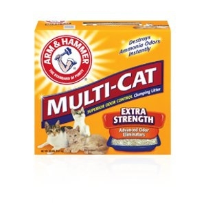 ARM & HAMMER™ Multi-Cat Strength Clumping Litter, Fresh Scent 26.3 lb
