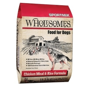 Sportmix Wholesomes Dog Food - Chicken Meal & Rice