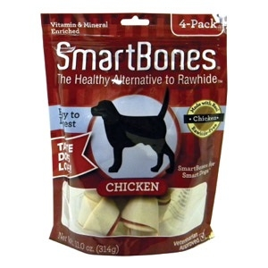 Smartbones Chicken Med. 4 Pack