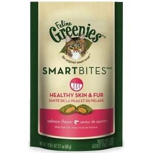 Feline Greenies Smartbites - Healthy Skin & Fur