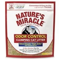 Nature's Miracle Odor Control Clumping Litter 10 lb