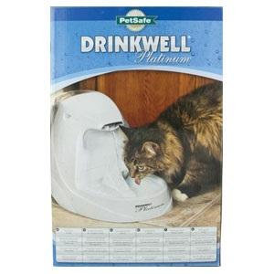 Drinkwell Platinum Fountain Cat 168 Oz.