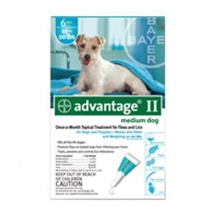 Advantage II Medium Dog