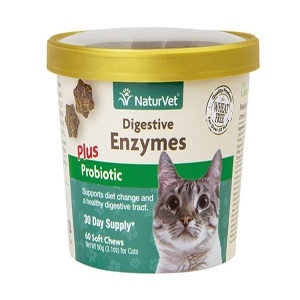 Digestive Enzymes Plus Probiotic Cat Soft Chew Cup
