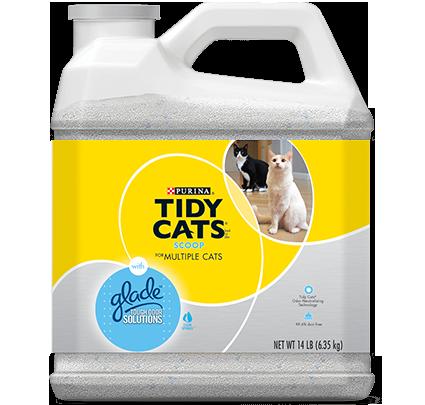 Tidy Cat Glade Tough Odor Multi Cat Litter 20lb