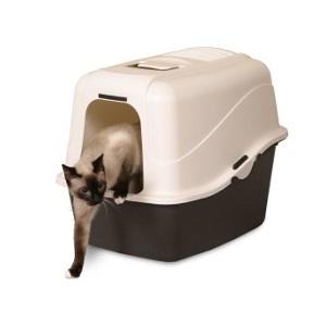 Petmate's Jumbo Hooded Litter Pan Set
