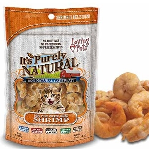 It's Purely Natural® Shrimp Treats for Cats