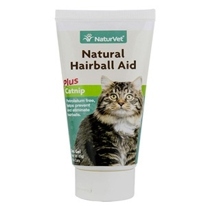 Natural Hairball Aid Plus Catnip Gel